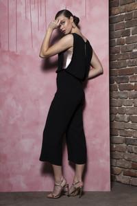 Caroline Kilkenny Black Gala Jumpsuit