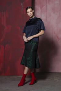 Caroline Kilkenny Jules Green Skirt
