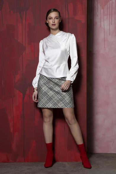 Caroline Kilkenny Tweed Magee Skirt