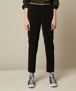 Hartford Pirouette Black Woven Pants
