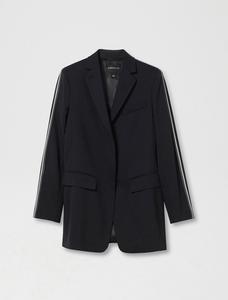 Sportmax Code King Black Jacket