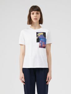 Sportmax Code Abetaia White T-Shirt