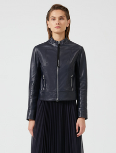 Sportmax Code Leather Agi Jacket