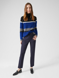 Sportmax Code Osimo Navy Trousers