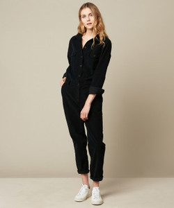 Hartford Woven Party Corduroy Jumpsuit