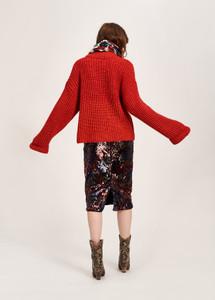Essentiel Antwerp Temptation Skirt Red