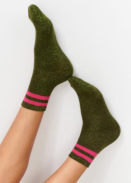 Essentiel Antwerp Tlamour Socks Green