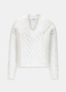 Essentiel Antwerp Tijoung Sweater White