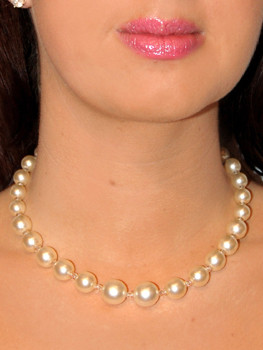 Pat Whyte Single Strand Pearl White