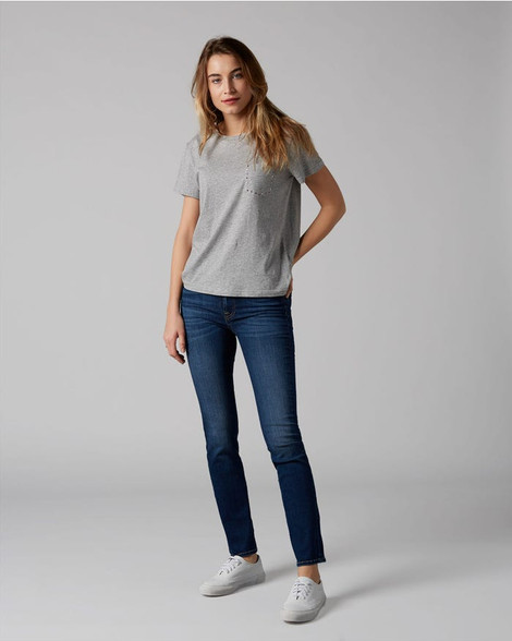 7 For All Mankind The Straight B(Air) Duchesse Blue