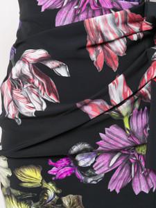 Chiara Boni Silveria Print Dress Black