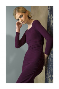Chiara Boni Faenna Dress Wine