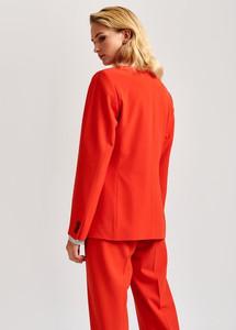 Essentiel Antwerp Temporary Structured Blazer Orange