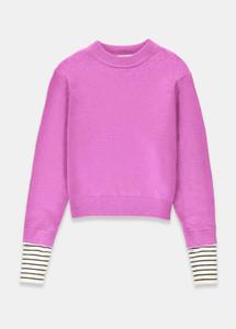 Essentiel Antwerp Tanger Striped Cuff Sweater