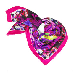 Debbie Millington Wild Lights Dragon Pink Scarf