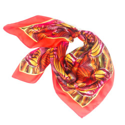 Debbie Millington Caribbean Bananas Orange Scarf