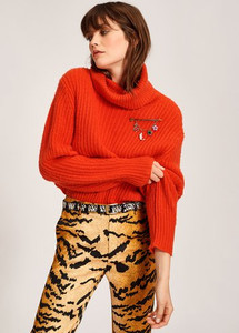 Essentiel Antwerp Toper Sweater Orange