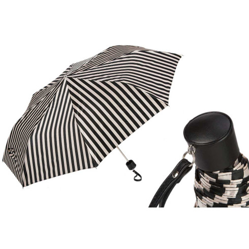 Pasotti Cream and White Umbrella