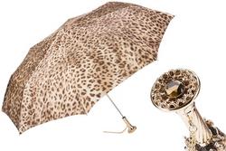 Pasotti Beige Leopard Umbrella