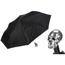Pasotti Black Skull Umbrella