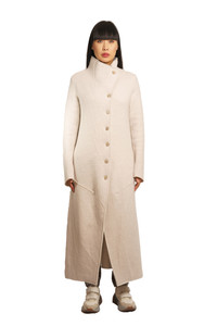 Transit Cream Long Coat
