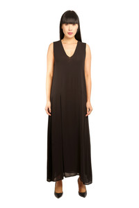Transit Par Such Long Black Loose Dress
