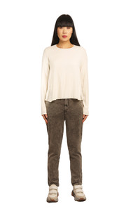 Transit Par Such Loose Cream Top