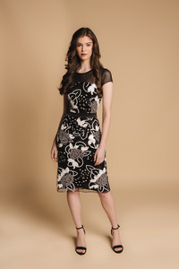 Charlotte Lucas Black Caroline Dress