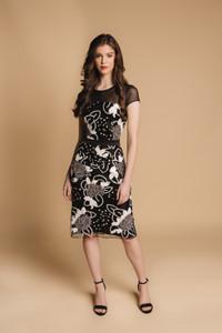 Charlotte Lucas Black Caroline Dress