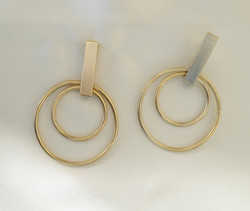 Pat Whyte Gold Hoop Earrings