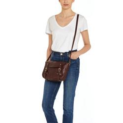 Il Bisonte Seppia Cowhide Handbag