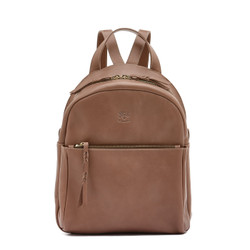 Il Bisonte Brown Cowhide Backpack