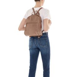 Il Bisonte Brown Cowhide Backpack