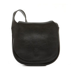 Il Bisonte Black Cowhide Crossbody Bag