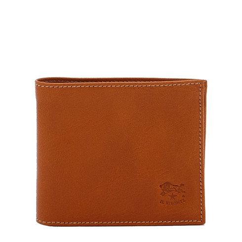 Il Bisonte Caramel Cowhide Wallet