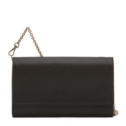 Il Bisonte Black Cowhide Continental Wallet
