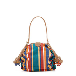 Il Bisonte Multicolored Canvas/Cowhide Handbag