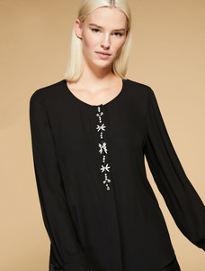 Persona  Black Fair Blouse