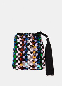 Essentiel Antwerp Viona Sequin Bag Multi