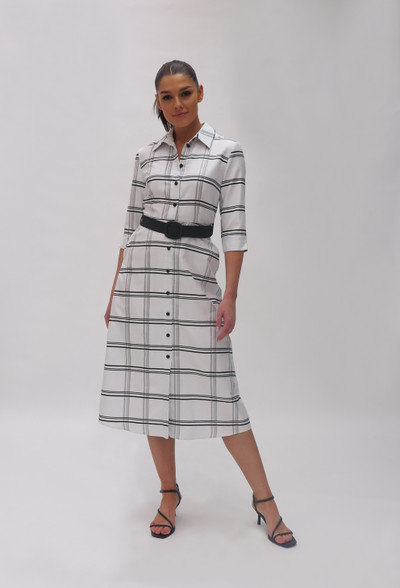 Fee G SS20 Check Shirt Dress