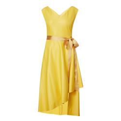 Caroline Kilkenny Cali Mustard Dress