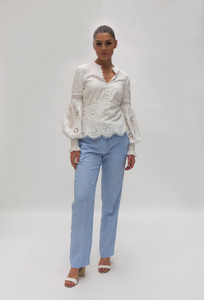 Fee G Broderie Anglaise Top