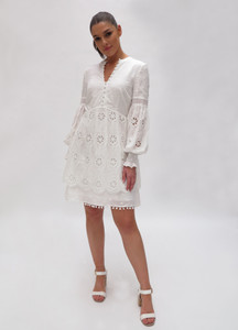 Fee G Broderie Anglaise Dress