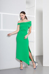 Caroline Kilkenny Green Bianca Dress