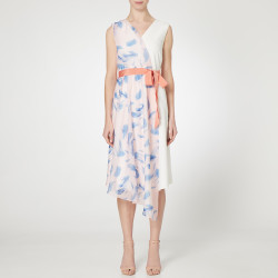 Caroline Kilkenny White Camila Dress