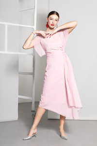Caroline Kilkenny Pink Emiliana Dress
