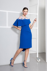Caroline Kilkenny Blue Ivanna Dress