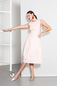 Caroline Kilkenny Grey Lola Dress