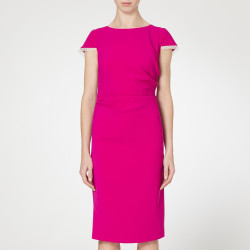 Caroline Kilkenny Purple Noemi Dress