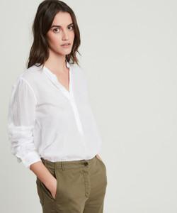 Hartford White Carta Shirt